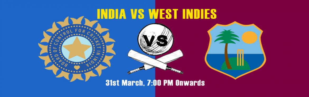 Book Online Tickets for  Live Semi-finals: India vs West Indies, Gurugram. Virat Kohli has again proved to be a star of the team. India has been qualified for the semi-finals and will play the match against West Indies on 31st March, 2016. Watch your favourite team play on a big screen at Impromptu and make their way to Fin