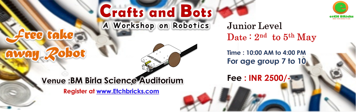 Crafts And Bots Jr- Entry Ticket