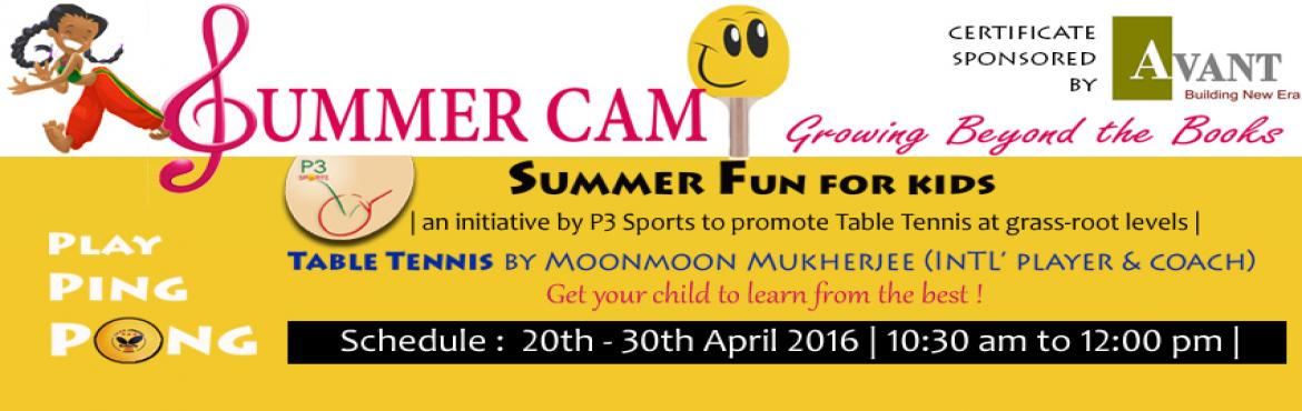 Table Tennis Summer Camp - 20th April to 30th April
