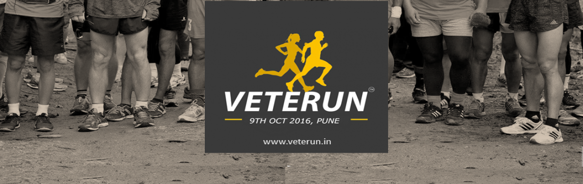 Book Online Tickets for Veterun - 2016, Pune. VETERUN - EDITION 3 AGE CATEGORIES - (Age completed on the event day -9th october 2016 will be considered for the age category)  35 complete To 39 complete 40 complete to 44 complete 45 complete to 49 complete 50 complete to 54 complete 55 complete t