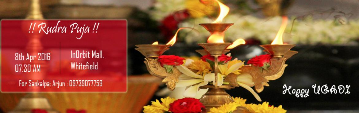 Ugadi Special Rudra Puja At Inorbit Mall Whitefield