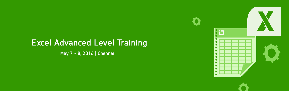 Book Online Tickets for Excel Advanced Level Training in Chennai, Chennai. Exce Spark is the Authorised Testing Center to conduct Microsoft Office Specialist (MOS) Exam   Exclusive Advanced Excel Training in Chennai Excel Spark Advanced Excel Training will really show you how to make Excel work for you. The c