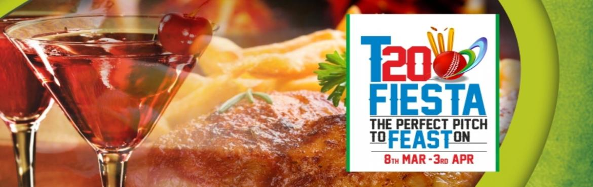 Book Online Tickets for T20 Fiesta - IPL Season 9, Chandigarh. After the sixth ICC World Twenty/20, now its turn to cheer your favorite hometeam in IPL Season 9. Kings XI Punjab would be rushing to win the this year\'s crown asthey just missed it last time , the city\'s food lovers would be rushing to relish the