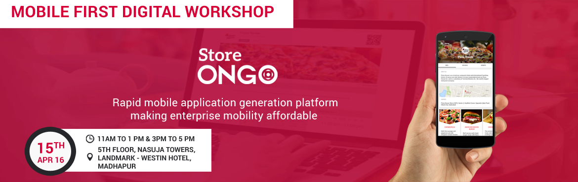 Mobile First Digital Workshop