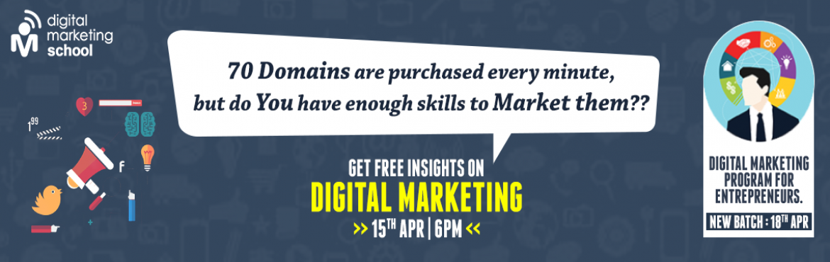 Book Online Tickets for Insights on Digital Marketing , Hyderabad. Insights on Digital Marketing   \
