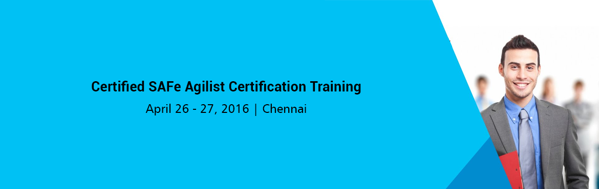 Book Online Tickets for Certified SAFe Agilist Certification Tra, Chennai. Certified SAFe Agilist (SA) (Based on Scaled Agile Framework® Version 4.0 for Lean Sofware and Systems Engineering)   Duration: 2 Days    Overview:  This two-day course teaches the Lean-Agile principles and prac
