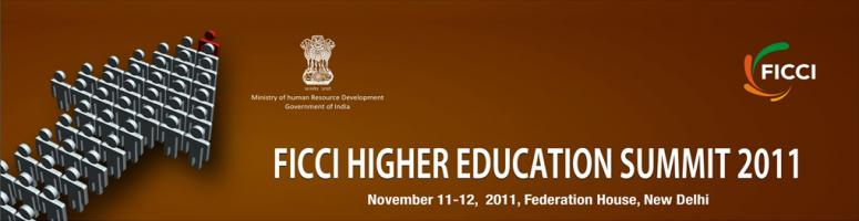 Book Online Tickets for FICCI Higher Education Summit 2011, NewDelhi.  