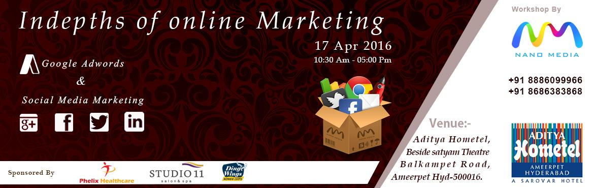 INDEPTHS OF ONLINE MARKETING