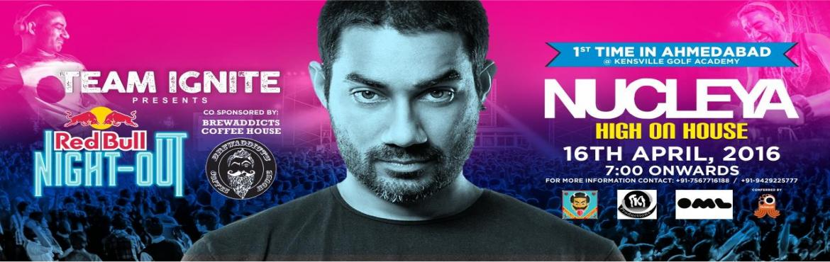 Book Online Tickets for Nucleya- High on House, Ahmedabad. Team IGNITE 16 brings to you NUCLEYA let us get HIGH ON HOUSE Ahmedabad.One of the early proponents of the now-popular genre of Dubstep in India, NUCLEYA has built on that start to emerge as one of the most exciting, experimental and engaging pr