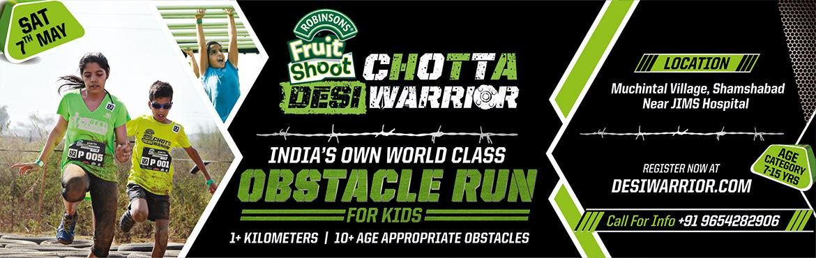 Fruit Shoot Chotta Desi Warrior Battlefield Hyderabad