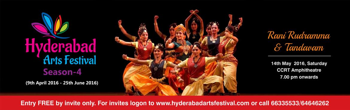 Book Online Tickets for HAF - Rani Rudramma Ballet, Hyderabad. Rani Rudramma - 14th May 2016 A Kuchipudi dance feature by Shambhavi Dance Ensemble Venue: CCRT Amphitheatre Rani Rudramma Devi was one of the most prominent woman rulers of the Kakatiya dynasty. Throughout her life, she continued to be an epitome of