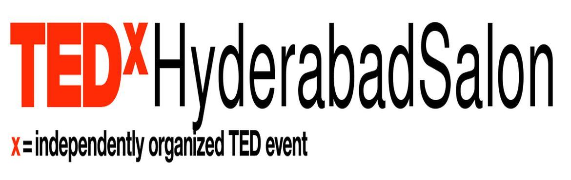 Book Online Tickets for TEDxHyderabadSalon, Hyderabad. We are excited to announce the TEDxHyderabadSalon! The salons are a great way to constantly engage the community through the year and we have 5 of them lined up for our beautiful city of Hyderabad. It's a unique kind of gathering that allows th