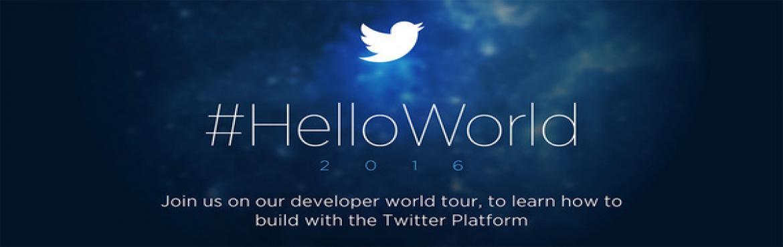Twitter's - HelloWorld international tour