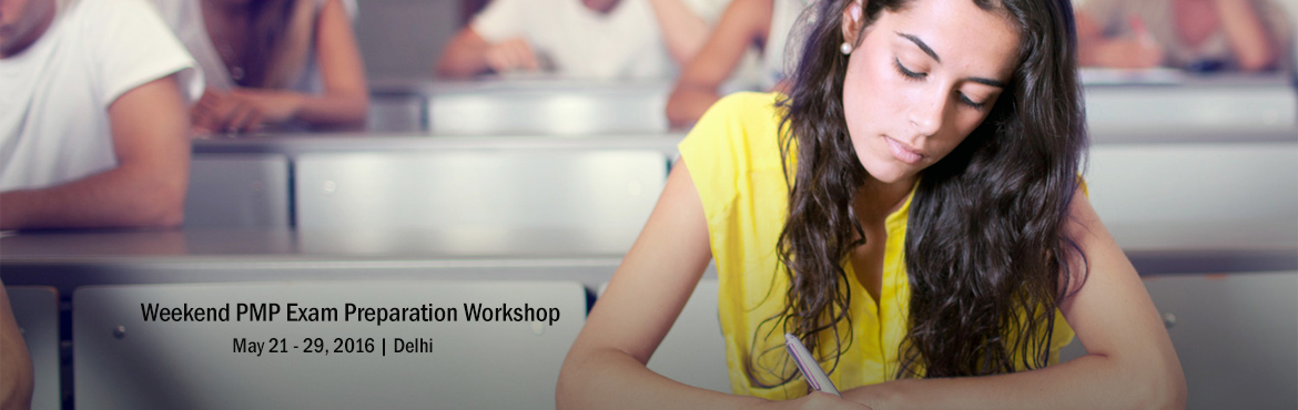 Book Online Tickets for Weekend PMP Exam Preparation Workshop in, NewDelhi. KnowledgeWoods SURESHOT PMP Certification Training Program is a Four (4) Days, weekend, classroom-based PMP preparation course with key focus at perfecting the participants on the Project Management concepts as defined in The Guide to PMBOK, and