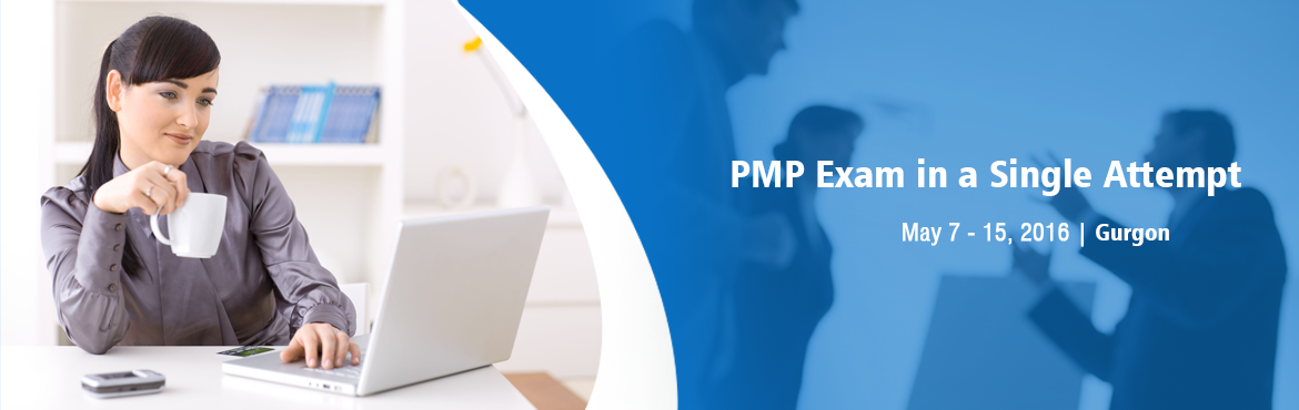 Book Online Tickets for Prepare to Pass PMP Exam in a Single Att, Gurugram. KnowledgeWoods SURESHOT™ PMP Certification Training Program is a Four (4) Days, Weekend Workshop where the prime focus is at intensively preparing the candidates to crack the prestigious PMP certification exam at the very first attempt. Backed