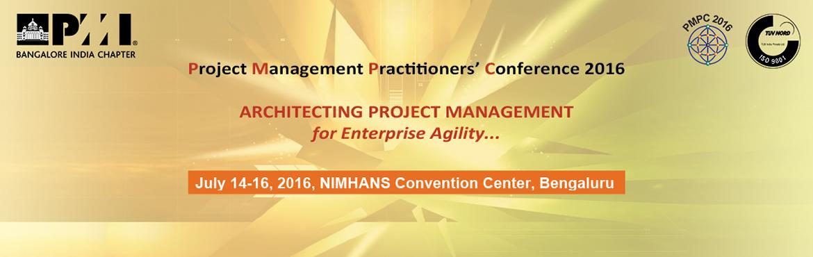 PROJECT MANAGEMENT PRACTITIONERS CONFERENCE 2016