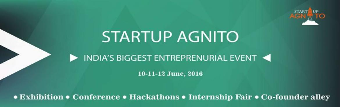 Book Online Tickets for SRARTUP AGNITO, NewDelhi. Sumizo Events brings to you a Glorious Event – Startup Agnito. It is an event to showcase and highlight the Booming StartupIndustry in India. There is renewed focus on the startup community after the thrust given by our PM Shri. Narender