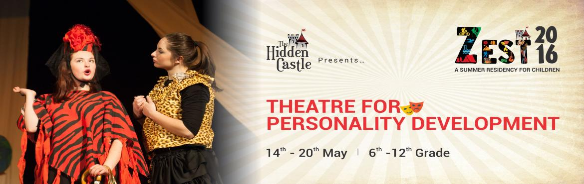 Book Online Tickets for Theatre for Personality Development, Mathpally.  Education in the Theatre arts inculcates several important life skills in children like Teamwork, Collaboration, Communication and Leadership apart from building confidence and self-esteem.  Theatre and Drama activities have shown to