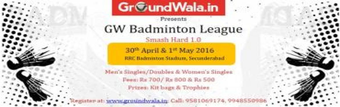 GW Corporate badminton Tournament Smash hard 1.0
