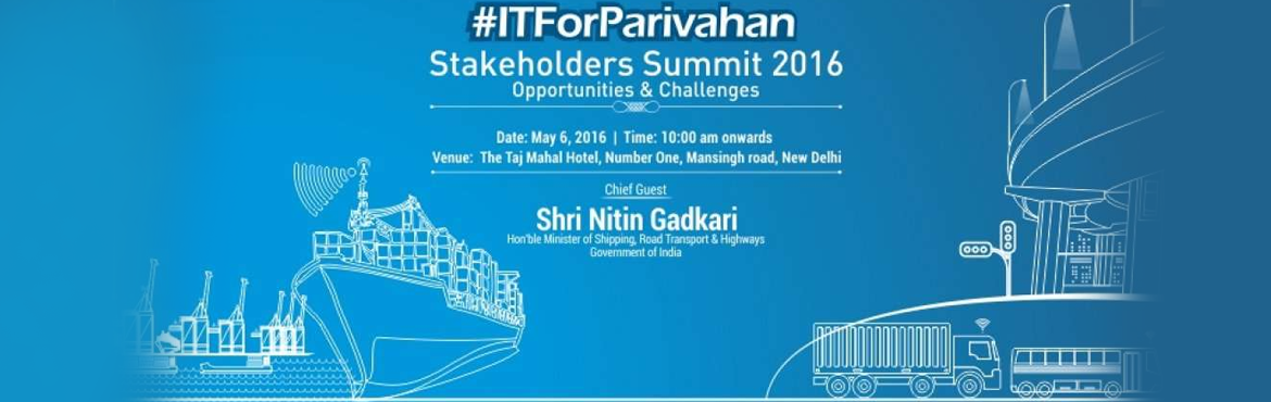 "Book Online Tickets for ITForParivahan Stakeholders Summit 2016 , NewDelhi. Association for MSMEs in Information Technology (AIM-IT) – an exclusive industry body with a sole aim to represent, advocate, and promote economic and technological advancement of IT-MSMEs in India – proudly presents  ""#ITForPa"