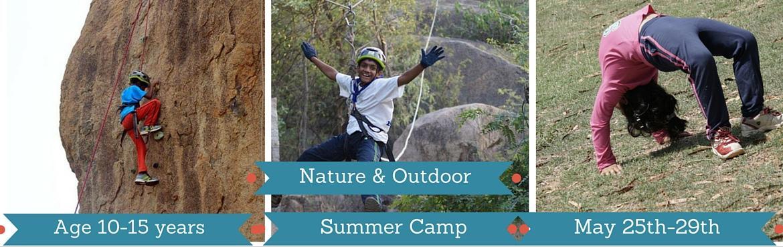 Book Online Tickets for Young Adventurer - Summer camp 2 - Hyder, Hyderabad. 5 Days 4 nights \