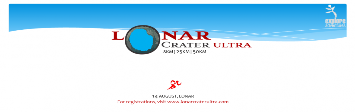 Book Online Tickets for Lonar Crater Ultra, Lonar.  A RUN TO REMEMBER at the proposed World Heritage Site of - Lonar Crater.   Lonar Lake is a saline soda lake located at Lonar in Buldhana district, Maharashtra, India, which was created by a meteor impact. It is the only hyper velocity impact crater