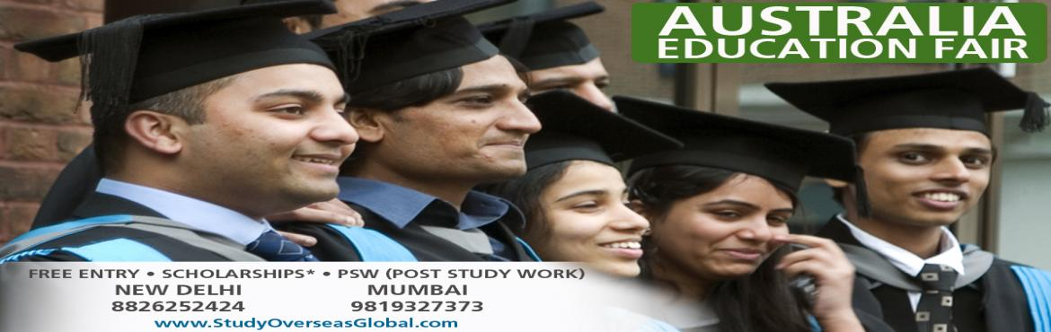Book Online Tickets for Australia Admission Week in Delhi, NewDelhi. Chance to get study in top Australian B Colleges. Contact My Education Fair on +91-8826252424, We are here to help you in Getting Admission in those Top Ranked Australian Colleges. You will have an opportunity to meet your Australian university offic