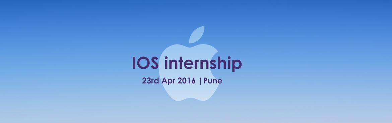 IOS internship