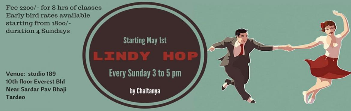 Book Online Tickets for Lindy Hop classes at Studio 189 May, Mumbai. Lindy Hop Lindy Hop is an easy to learn partner dance originating from Harlem, New York danced to swing jazz music. The dance form is energetic and fun filled just as the music is. This dance form, the granddaddy of Jive and West coast swing is surgi