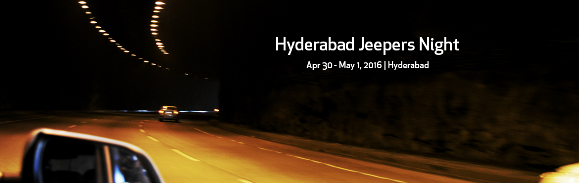 Hyderabad Jeepers Night