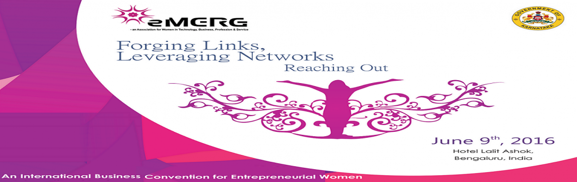 Book Online Tickets for Forging Links, Leveraging Networks 2016, Bengaluru. INVITING PROGRESSIVE WOMEN, TO JOIN A NETWORK OF VIBRANT WOMEN BUSINESS OWNERS, PROFESSIONALS & ENTREPRENEURSWomen are an essential part of the talent pool in any industry and are a vital link in the economic network and society. However, the rol