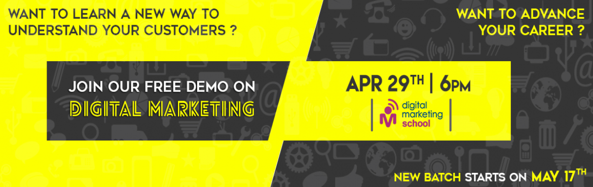 Book Online Tickets for Orientation on Digital Marketing  , Hyderabad. Orientation on Digital Marketing   \
