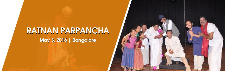 Ratnan Parpancha at Rangashankara Bengaluru