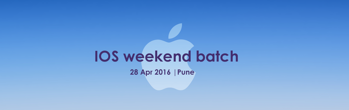 Book Online Tickets for IOS weekend batch, Pune. If you are interested in developing web applications, why not learn from the best? Felix-Its is one of the best iOS classes in Pune. We hire the best talent of the industry to train our students. Moreover, we do not merely focus on impartin