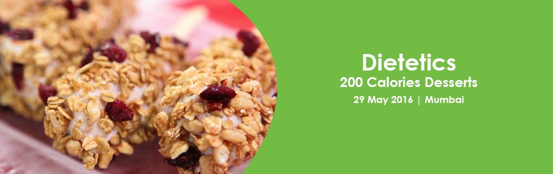 Dietetics- 200 Calories Desserts