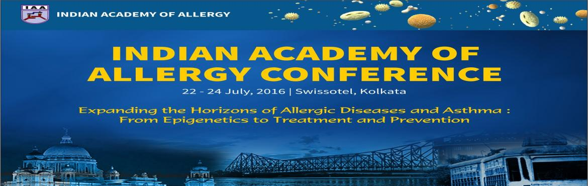 Book Online Tickets for IAACON 2016, Kolkata. Disseminating state-of-the-art knowledge on allergic diseases, asthma and related chronic diseases, the impact of the environment, life style and early life determinants as well asincreasing public awareness, enhancing scientific exchange and researc