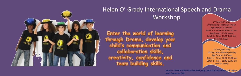 Book Online Tickets for Helen O Grady International Speech and  , Mumbai.
