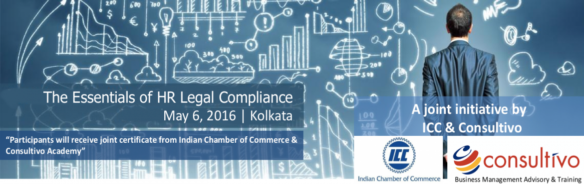 Book Online Tickets for The Essentials of HR Legal Compliance , Kolkata.          Programme overview      As an HR professional, the number of legal issues you need to be aware of can be overwhelming. Especially when you consider the increasingly litigious nature of our society — and the many nuances of employ
