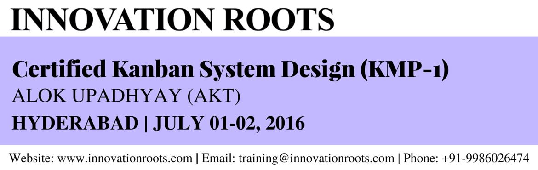 Kanban System Design (KMP - 1) - Hyderabad