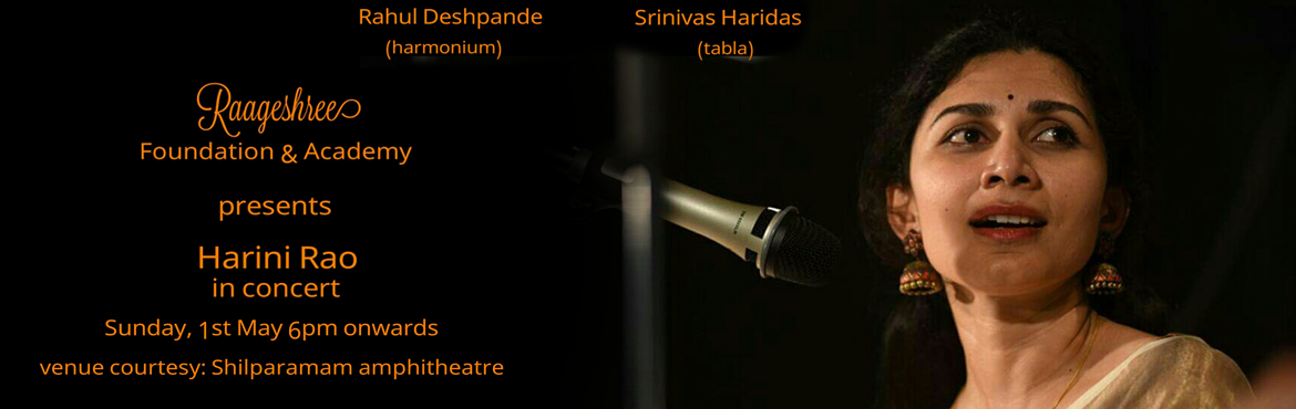 Hindustani Vocal Recital by Smt. Harini Rao and Bharatnatyam  Performance by Hari Mangalampalli
