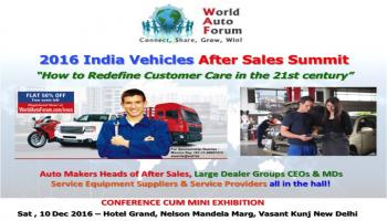 2016 India Vehicle After Sales Summit by World Auto Forum