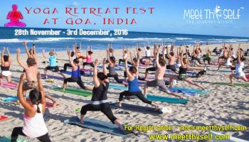 Meet Thyself,  Yoga and Meditation Retreat Fest. in Goa, India