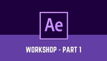 After Effects for UI - Workshop (Part 1)