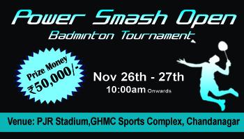 Power Smash Open - Badminton Tournament