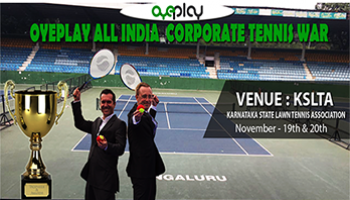OyePlay All India Corporate Tennis Tournament