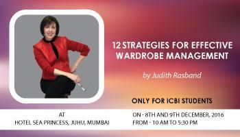 12 Strategies for Effective Wardrobe Management (Mumbai 8-9 Dec 2016)