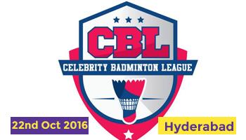 Celebrity Badminton League - Match 2