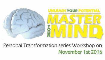 Unleash Your Potential - Master Your Mind (Level 1) Workshop.
