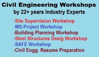 Civil Engineering Workshops by Industry Experts