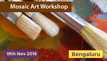 Mosaic Art Workshop by Trishna Patnaik